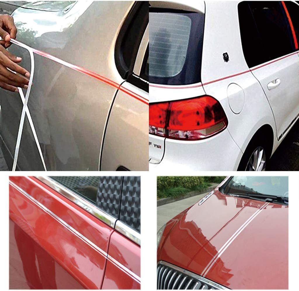 Car Body DIY Vinyl Decals Stickers Automotive Pinstriping Tape 1//2 inch Red 12mm Pinstripe Tape