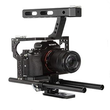 VELEDGE VD-07 - Estabilizador portátil de Aluminio para cámara ...