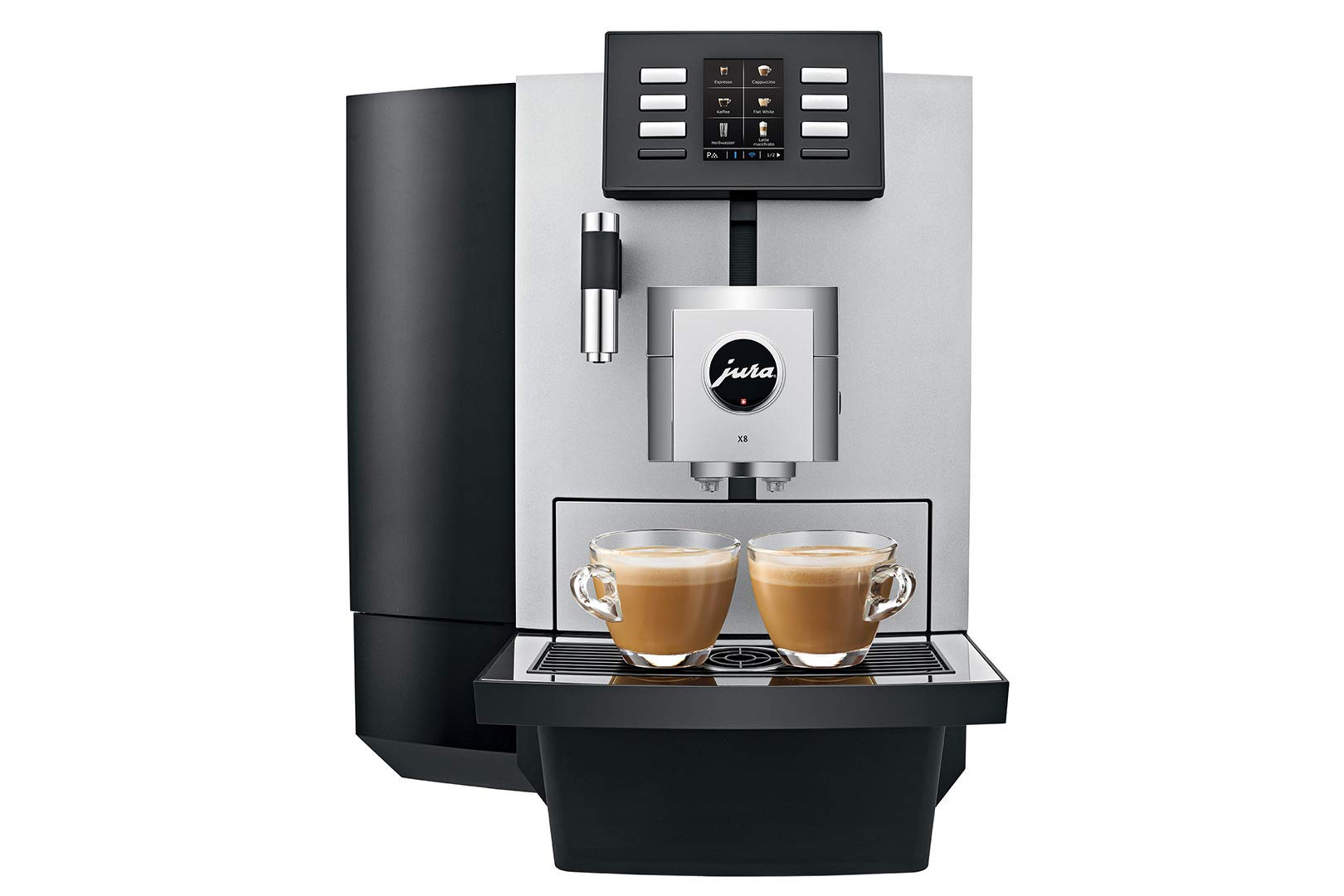 Jura X8 15177 Automatic Coffee Machine w/PEP 64oz Capacity Programmable by Jura