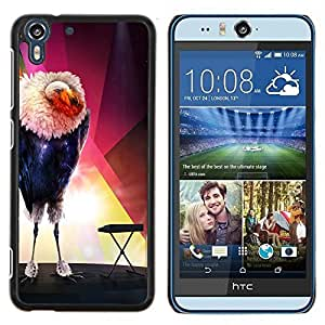 Stuss Case / Funda Carcasa protectora - El pájaro Glamorous - HTC Desire Eye ( M910x )