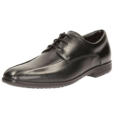 808523ba6d9 Clarks Willis Lad Bootleg Boys Senior School Shoes 9 UK G Black  Amazon.co. uk  Shoes   Bags