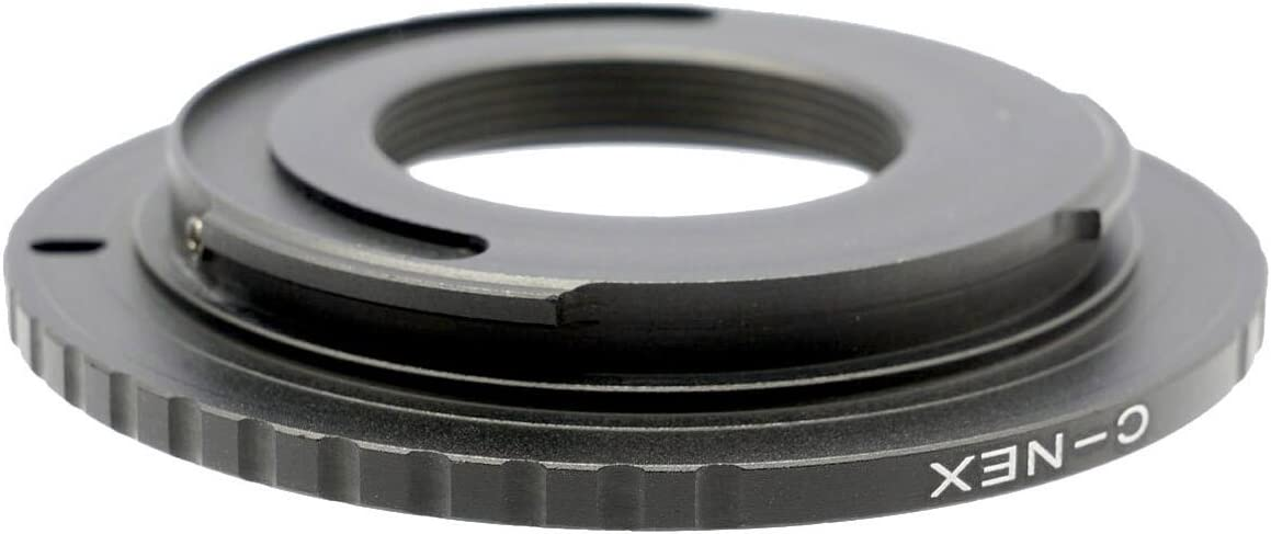Gadget Place C Mount Lens Adapter for Sony a9 A9 Alpha 9