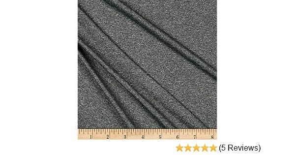 """36/"""" x 60/"""" 1 Yard Black Dri Fit Active Wear Knit Wicking Fabric"""