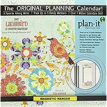 Ladybird 2017 Plan-It Plus 17-Month Magnetic Hanger Calendar