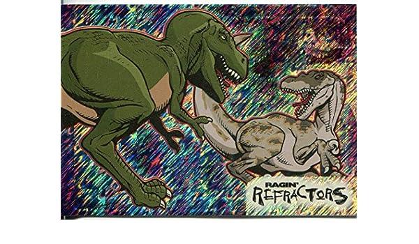 Jurassic Park III 3D Ragin Refractor Blue Prismatic Chase Card RR5