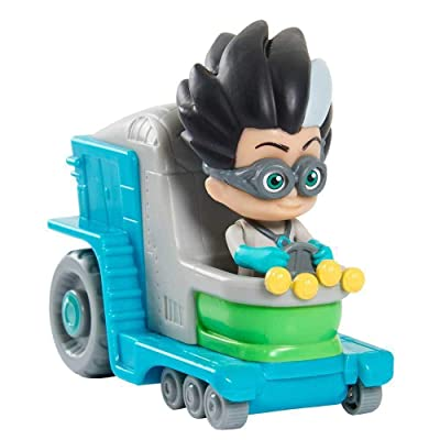 PJ Masks Mini Vehicle – Romeo: Toys & Games