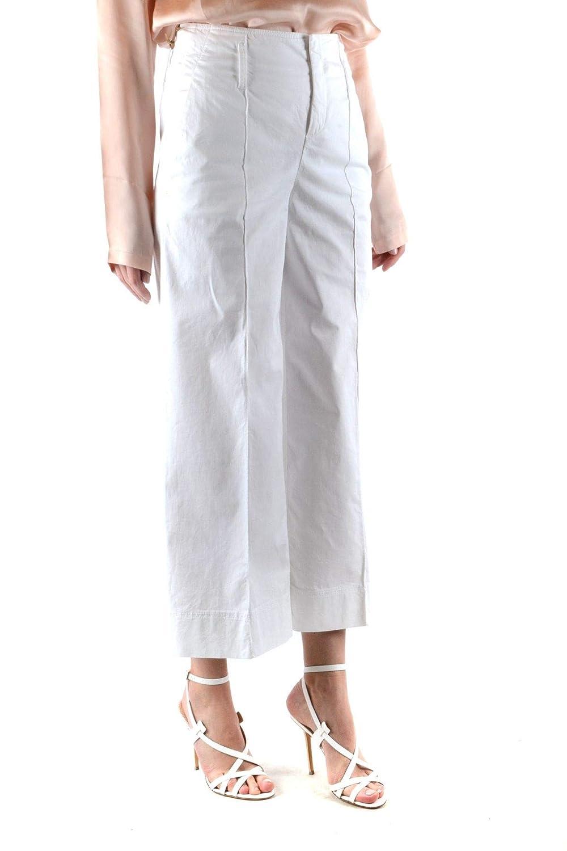 fay Womens MCBI36574 White Cotton Jeans
