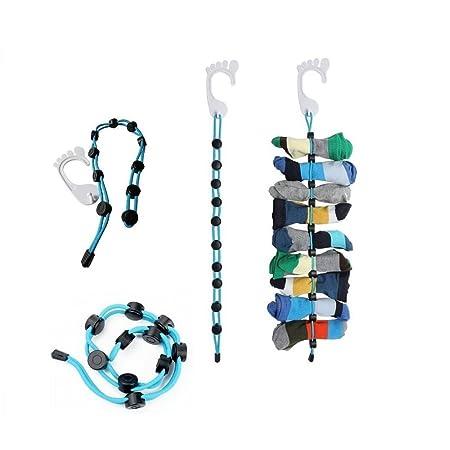Reefa Organizador de calcetines creativo, fácil de sujetar y ...