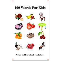 100 Words For Kids: Picture 100 Words For Kids (English Chinese Language) (English Edition)