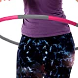 3 Pound Weighted Hula Hoop For Exercise Weight Loss. Perfect for Dancing, Hot Fitness Workouts and Simply the Funnest Way to Lose Weight.