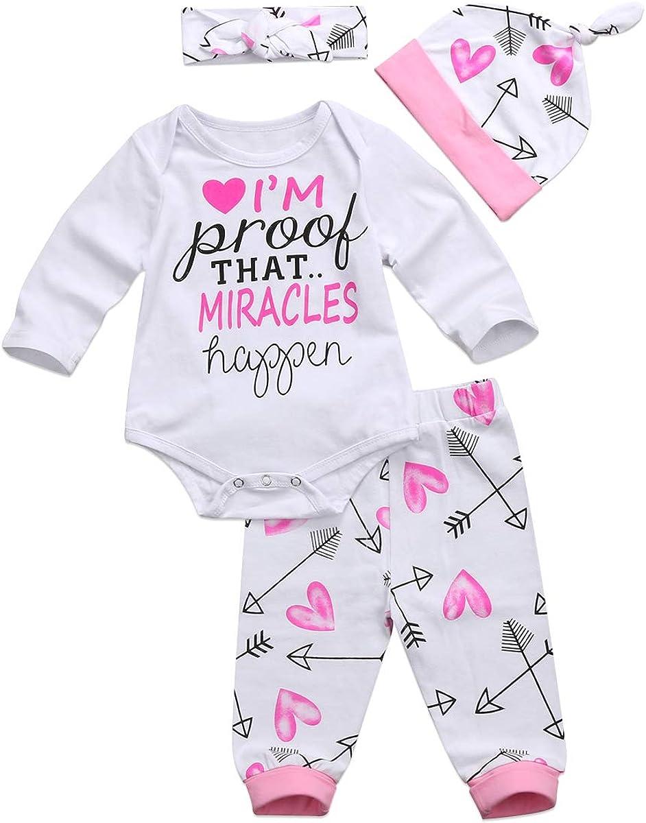 Chloefairy Baby Boys Girls Valentine Outfit Clothing Set Newborn Infant Toddler Long Sleeve Bodysuit + Pants 0-24M
