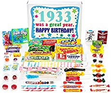 Woodstock Candy 1933 85th Birthday Gift