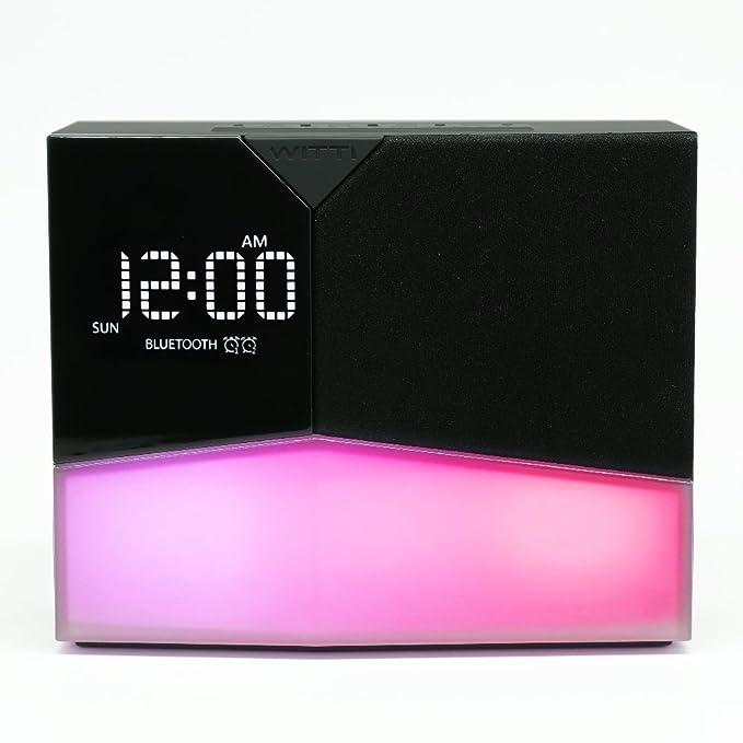 Amazon.com: WITTI - BEDDI Glow - Reloj despertador ...