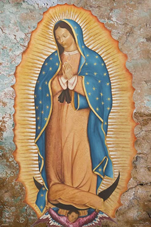 Saint Virgin Mary Poster 24x36 inch rolled wall poster