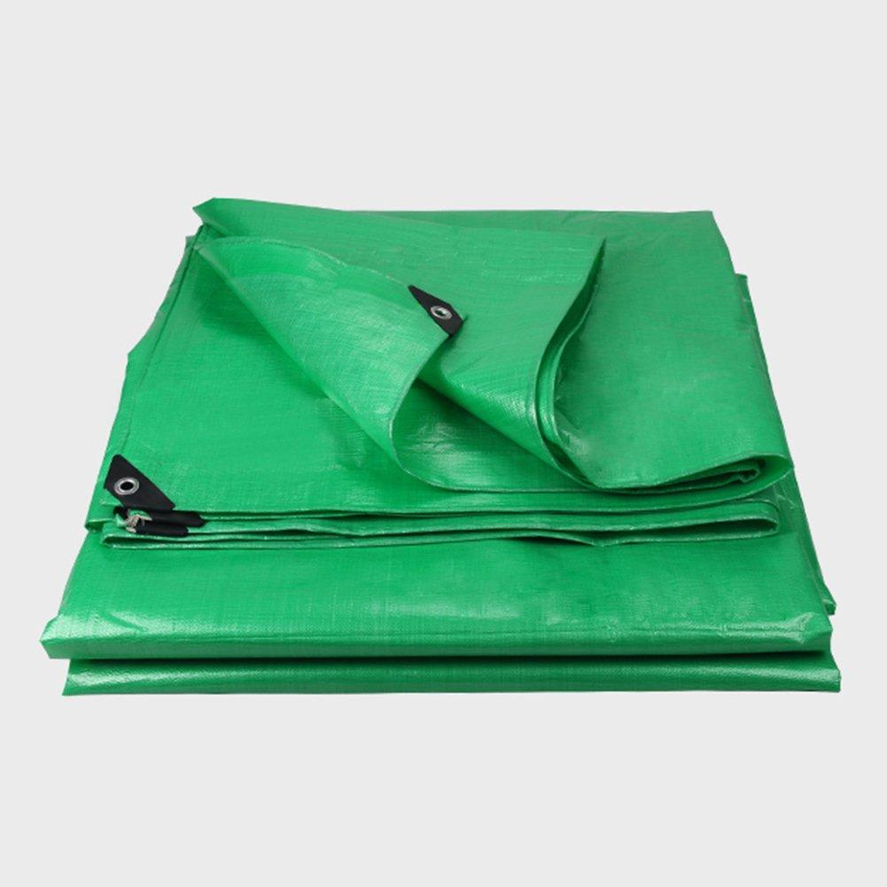 ふわふわ グリーン 防水 日焼け止め 雨布 サンシールド プラスチッククロス アウトドア トラッククロス シェッドクロス ポリエチレン PE布,400 * 400Cm B07FYMYR8R 400*400cm  400*400cm