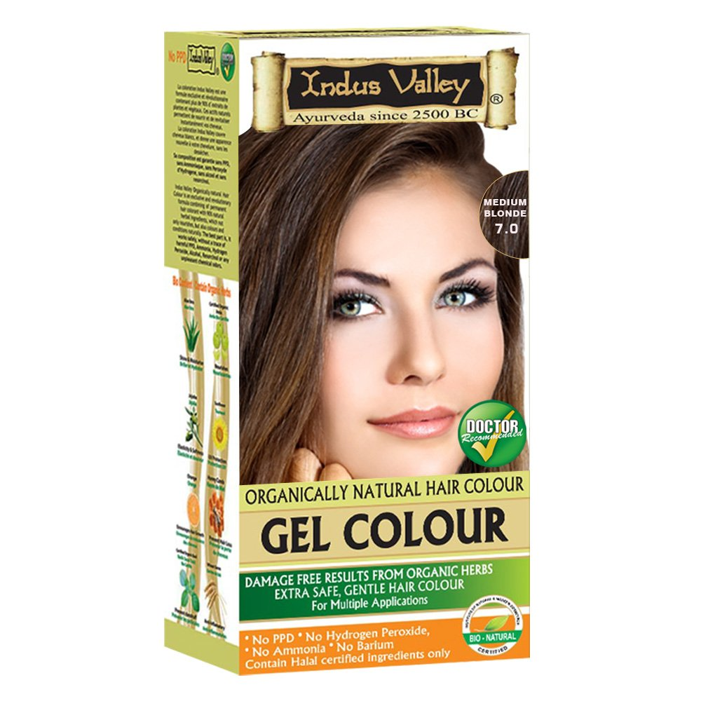 Amazon Indus Valley Herbal Natural Hair Color No Ppd No