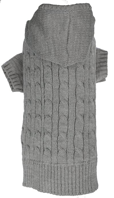 Lanyar Dog Classic Cable Pet Sweater Hoodie
