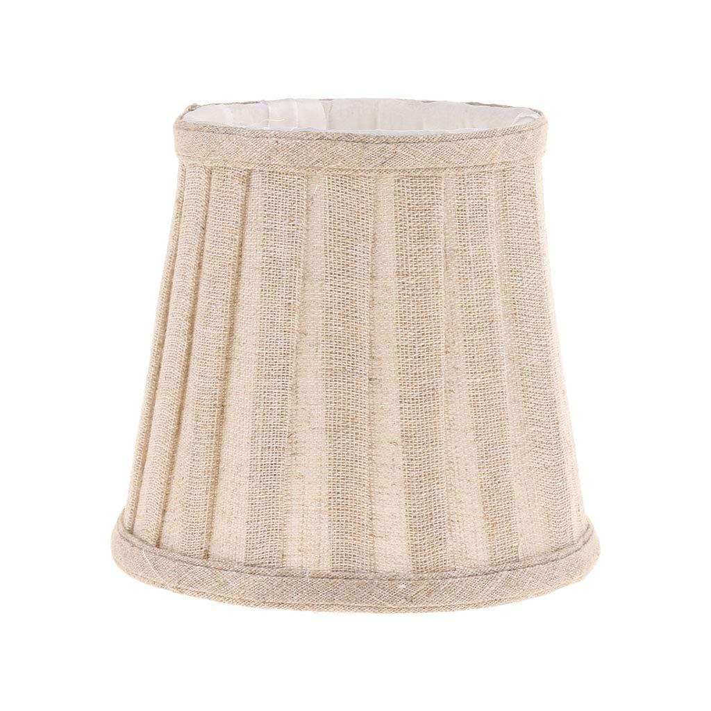 SM SunniMix Lampe de Table Fde Chevet Abat-Jour de Lecture Luminosité Chevet pour Chambre Décoration Intérieure - Beige