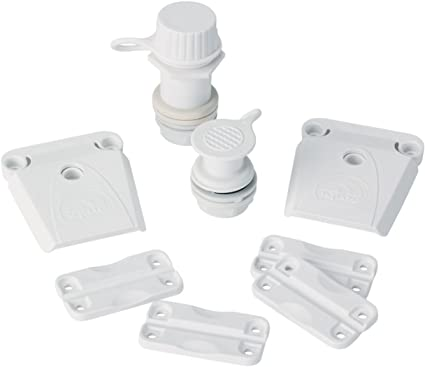 Igloo Part Kit For Ice Chest Hinges Latches Home Replacement Cooler Party Picnic