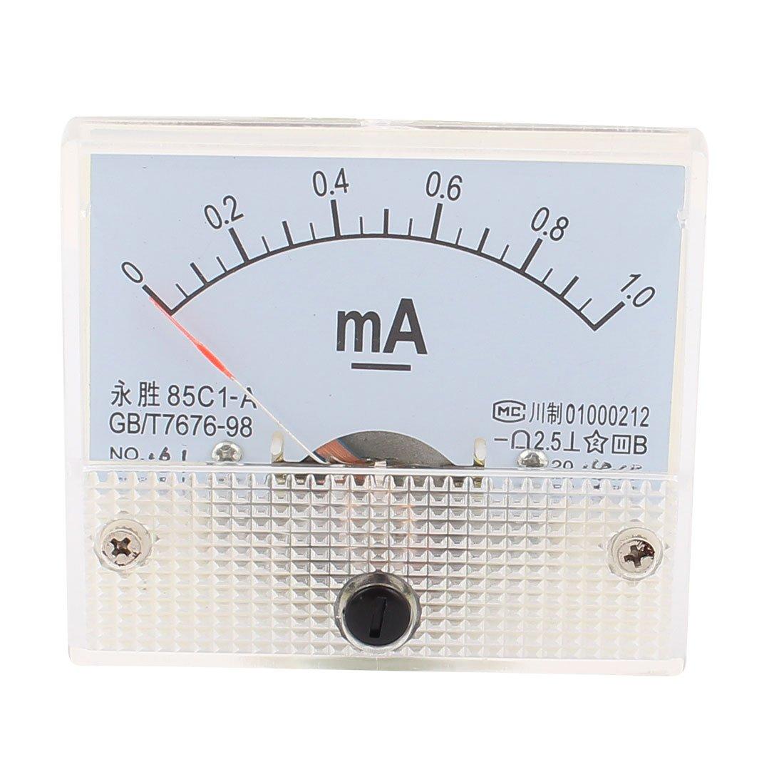 85C1 analogique courant Tableau DC 200uA contr/ôle manom/ètre test Amp/ère 1 pc