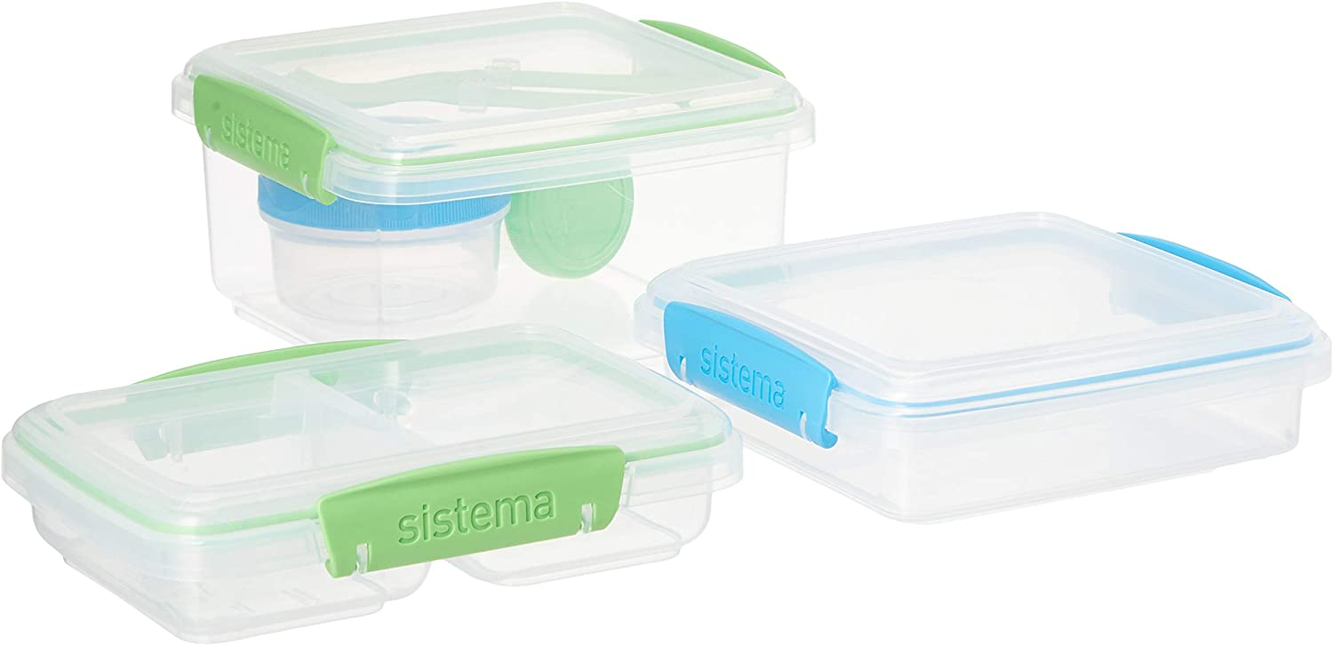 Sistema To Go 12-Piece Lunch Food Storage Container Set