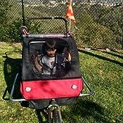 Amazon Com Veelar Children Bicycle Trailer Jogging