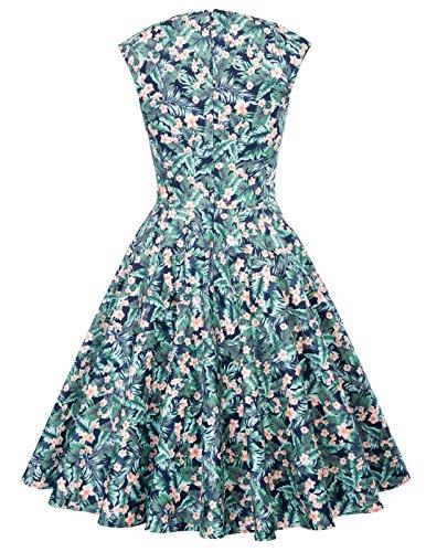 Bp105 mangas mujer 10 Noche Vintage GK Sin Dress Vestido para Z8nw6q
