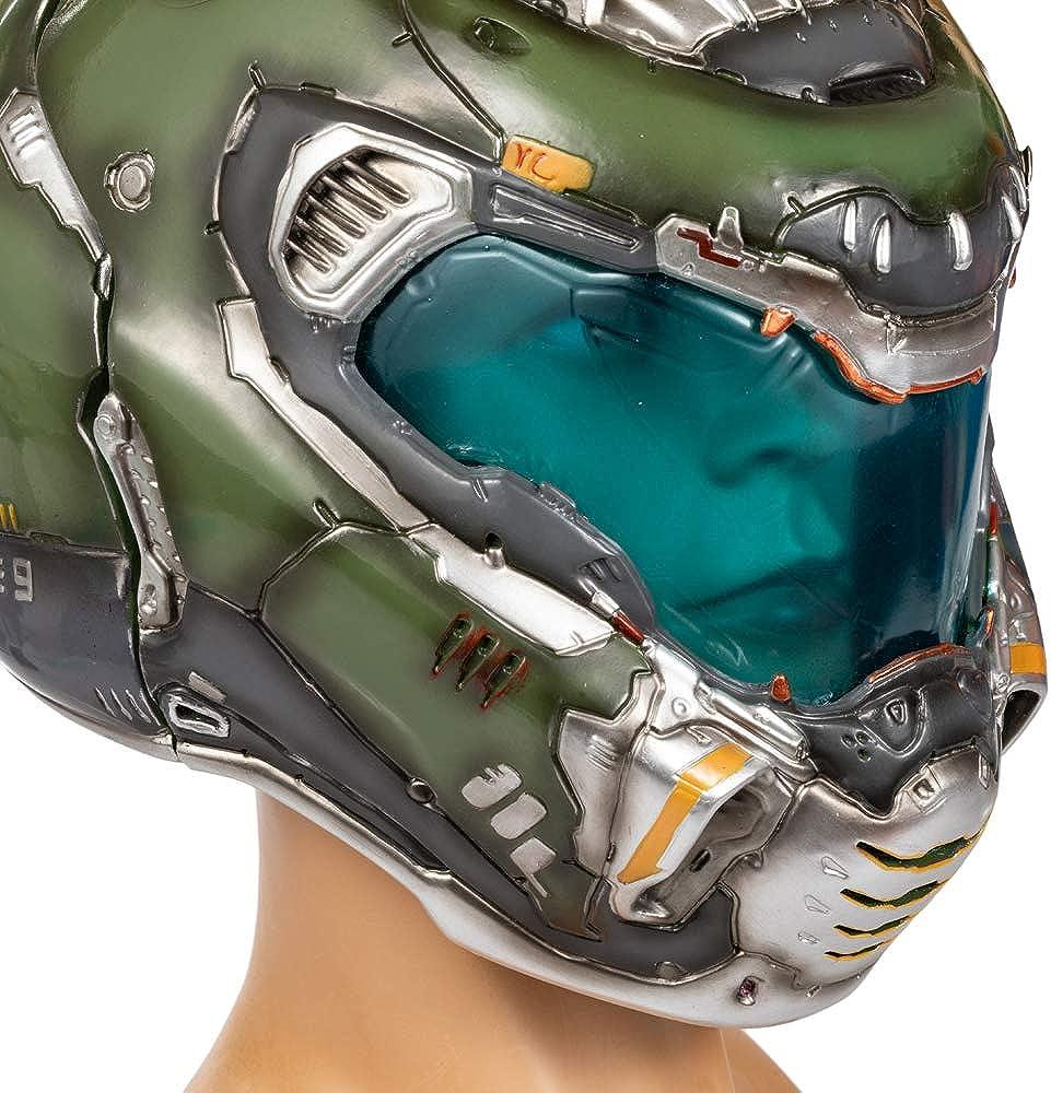 Dailygocn Doomguy Casco Deluxe Resina Doom Slayer 1:1 Maschera completa per gioco Cosplay Costume Prop Merchandise