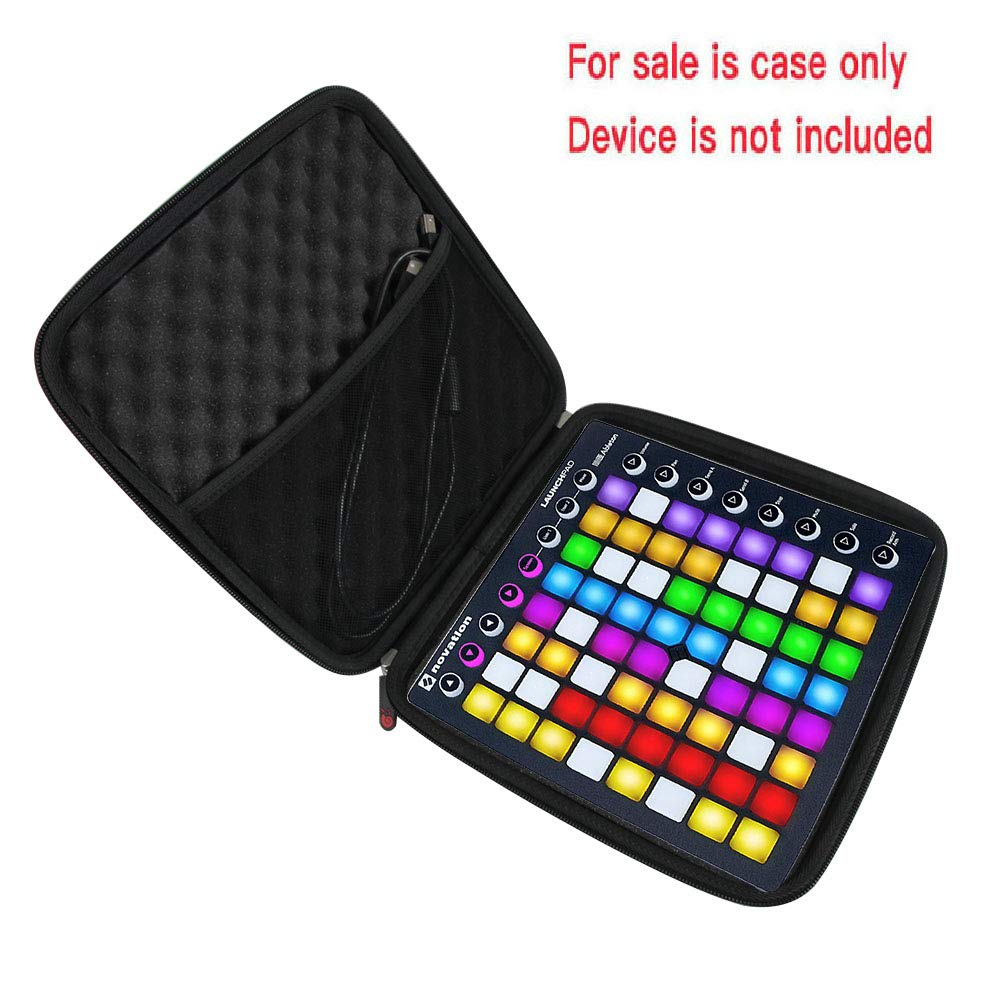 Hermitshell Hard Travel Case for Novation Launchpad Ableton Live Controller with 64 RGB Backlit Pads by Hermitshell (Image #3)