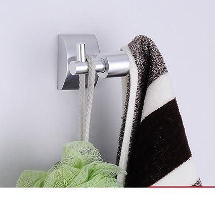 Espacio aluminio plegable toallero/Toalla/Tejidos/Accesorios hardware-B