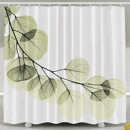 Amazon MdsdWXza Green Eucalyptus Fashion Shower Curtain Deluxe
