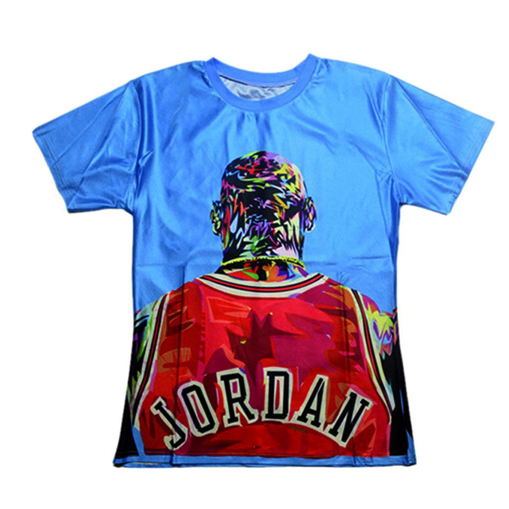 Catamaran Unisex Star jordan shirts printed 3d tops T Shirts (L)