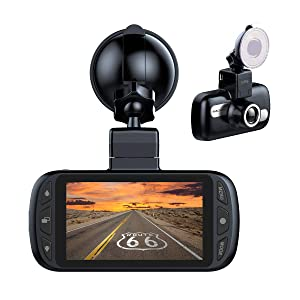 "GPS Car Dash Cam, EACHPAI K1 Full HD 1080P Dashboard Camera Recorder 150 Wide Angle with Sony Sensor,Super Capacity,3"" IPS Screen,WDR, G-Sensor,Loop Recording"