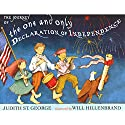 The Journey of the One and Only Declaration of Independence Audiobook by Judith St. George Narrated by Jeff Brooks