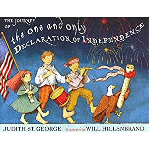 The Journey of the One and Only Declaration of Independence Audiobook