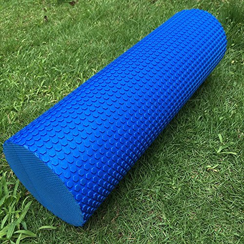 Start 45x15cm Yoga Foam Wedges Pilates Massage Gym Fitness Trigger Point Exercise Foam Roller