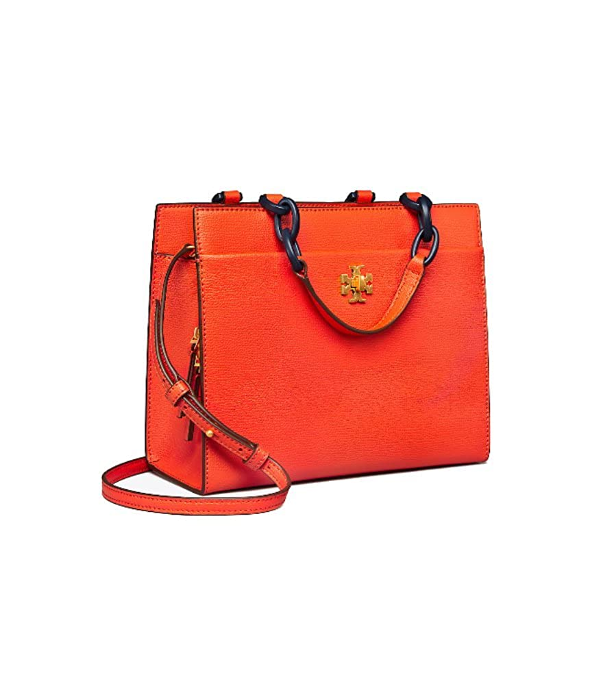 557d89a21ce Amazon.com  Tory Burch Kira Italian leather Small Cross-Body Tote Shoulder  Bag (Poppy Red)  Shoes