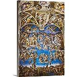 "Canvas on Demand Premium Thick-Wrap Canvas Wall Art Print entitled Fresco in the Sistine Chapel 20""x30"""