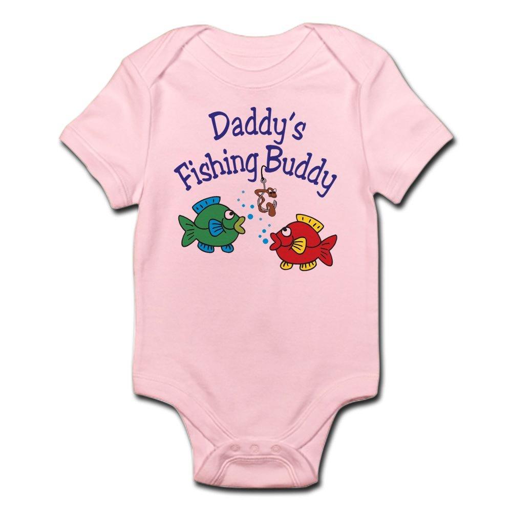 CafePress - Daddy's Fishing Buddy - Cute Infant Bodysuit Baby Romper