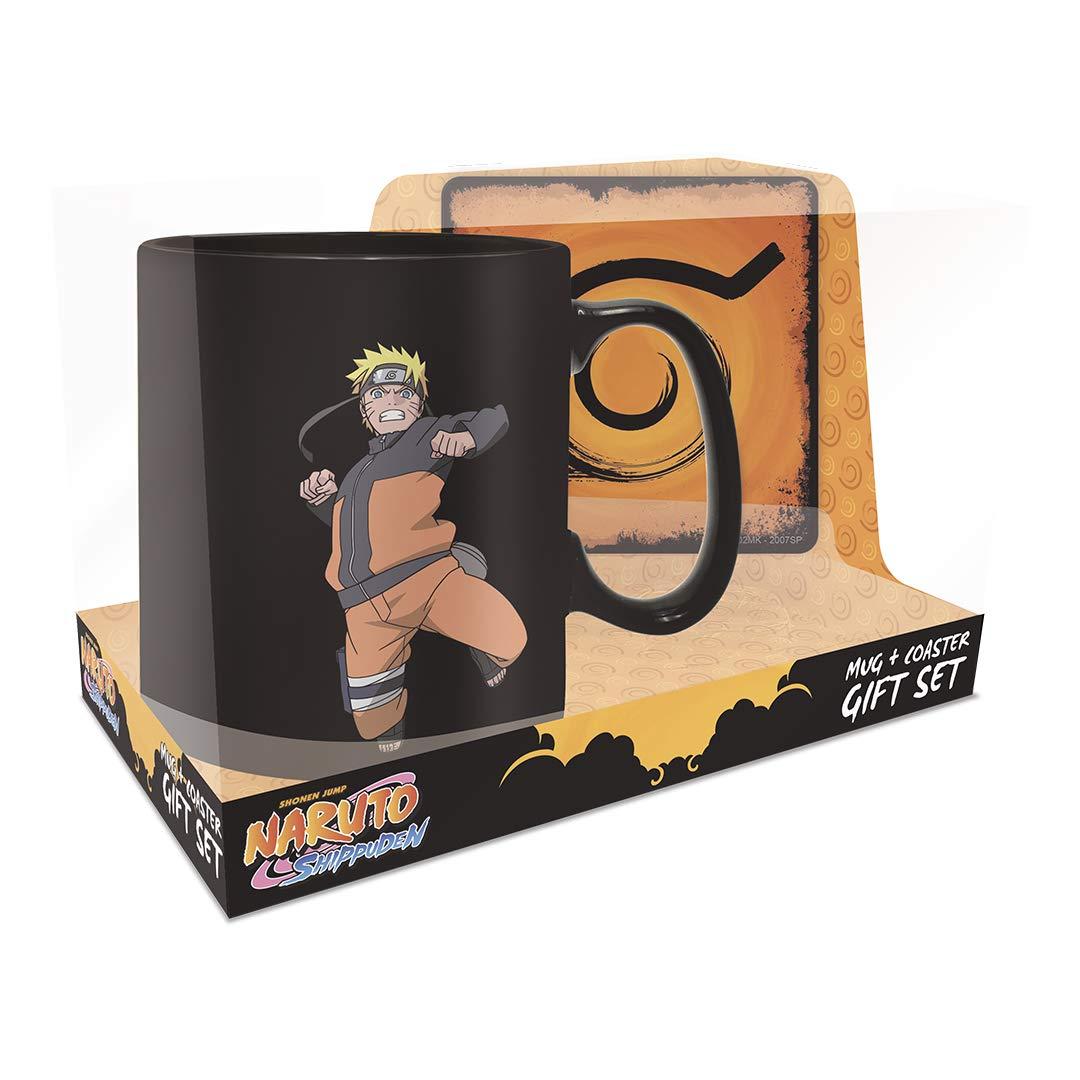 Naruto Shippuden - Clone Jutsu Magic Mug and Coaster Gift Set