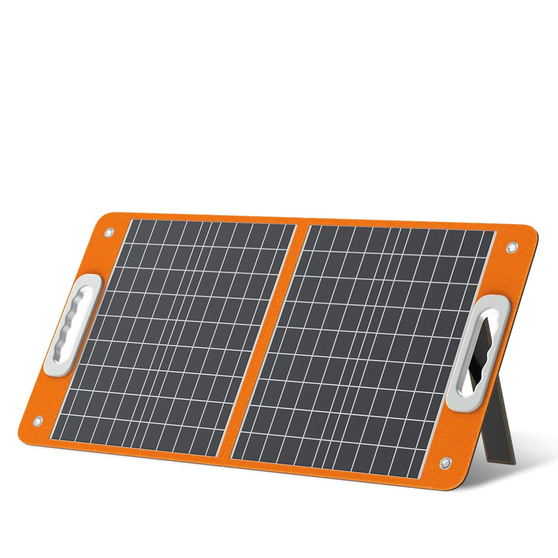 Solar panel for camping heater