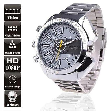 SUNDREAM® 16GB Real HD 1080P Reloj espía impermeable con infrarrojo/Waterproof DV Spy Watch