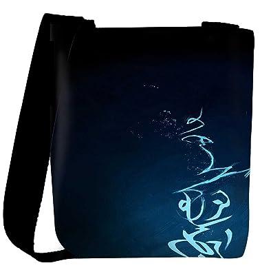 3566b52032d Snoogg Signs Blue Designer Womens Carry Around Cross Body Tote Handbag Sling  Bags
