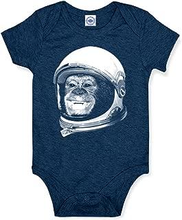 product image for Hank Player U.S.A. Ham The Astrochimp/NASA Helmet Baby Onesie