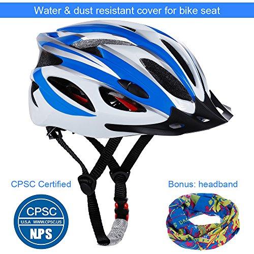 Buy blue bicycle helmet women