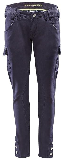 Escale Bleu Pour Marinepool Trousers Pantalon Marine Xl Femme Cargo yvgf7Yb6