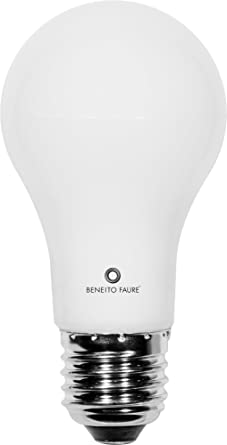 Bombillas LED de luz blanca (2,700 K) 6 Watt E27 equivalente a bombilla 40