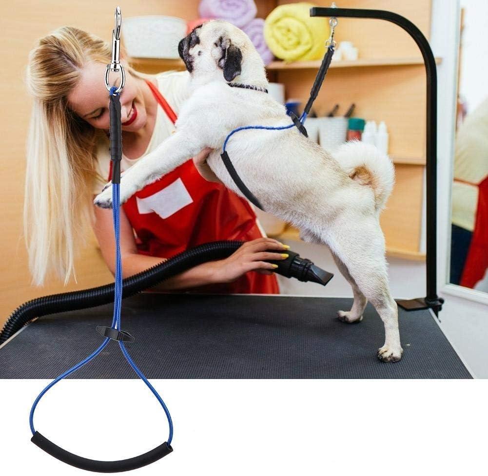 Peluquería para Perros Cuerda de sujeción Peluquería para Mascotas Arnés de Mesa Una Sola SOGA Peluquería para Mascotas Alambre de Acero para Mascotas Herramientas para el Aseo de Mascotas