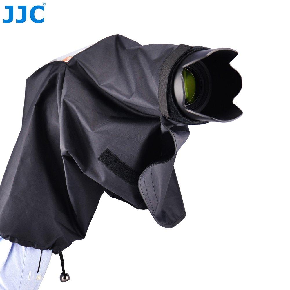 JJC 22cm/8.6'' Waterproof Rain Cover Coat Poncho for Nikon DK-19 Eyecup DSLR Camera D5 D4 D4s D3 Series D2 Series D500 D810 D810A D800 D800E Df+Nikon 18-105mm 18-200 18-300 24-120 70-200 70-300 Lens