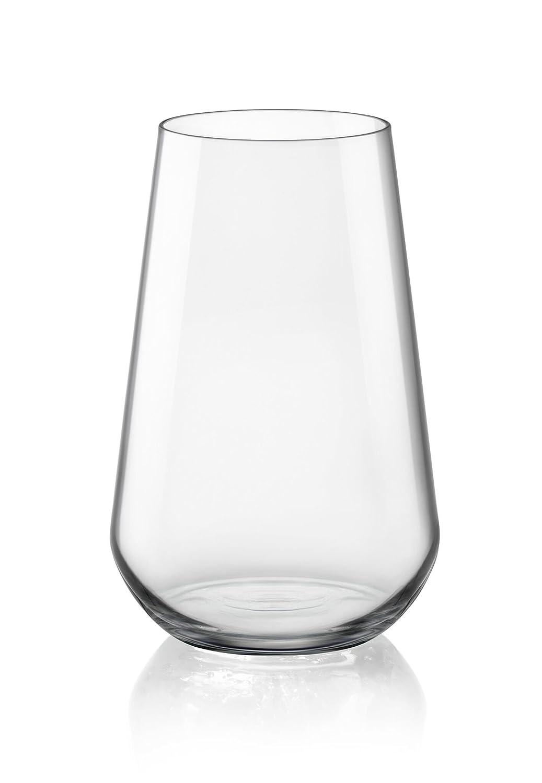 Bormioli Rocco Inalto Uno Set of 6Long Drink Glasses, Set of 6 365757G21021990